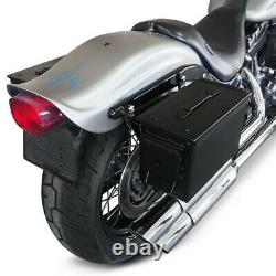 Sacoches laterales M2A1 + kit de pour Harley Sportster Forty-Eight 48/ Special