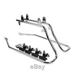 Sacoches laterales avec supports CR pour Harley Fat Boy Special/ Lo 10-17 LB