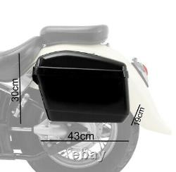 Sacoches laterales pour Harley Davidson Sportster 1200 T Superlow NVK