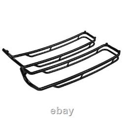 Sacoches rigides Set pour Harley Road King Classic 98-13 + Rails S-P3