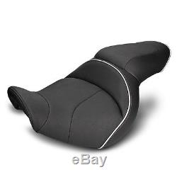 Selle Moto Confort Gel pour Harley Davidson Dyna Street Bob (FXDB) Modificación