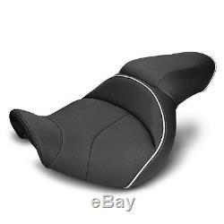 Selle Moto Confort Gel pour Harley Davidson Dyna Super Glide Sport Modificación