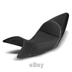 Selle Moto Confort Gel pour Harley Davidson Electra Glide Standard Modificación