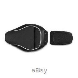 Selle Moto Confort Gel pour Harley Davidson Softail Breakout (FXSB) Modificación