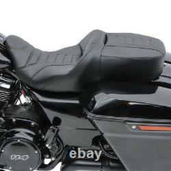 Selle moto Craftride TG3 pour Harley Davidson Touring 09-20 noir