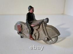 Simon et Rivollet SR moto Harley Davidson militaire WW1 plomb 1/40