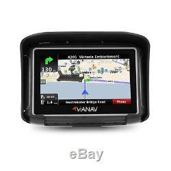 Système GPS Moto 4,3 pour Harley Davidson CVO Softail Convertible (FLSTSE)