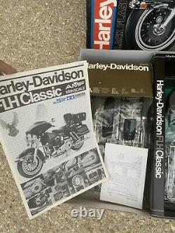 Tamiya 1/6 Harley Davidson FLH Classic Neuf Sous Blister Complete Rare Maquette