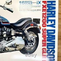 Tamiya 1/6 Harley-Davidson FXE1200 AMF Super Glide Modèle Kit