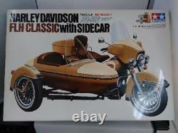 Tamiya 1/6 Harley Davidson Flh Classique Sidecar Grand Echelle Séries NO18 Used