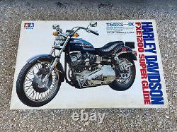 Tamiya 1/6 Harley Davidson Fxe1200 Super Glide Neuf Blister Complete Maquette