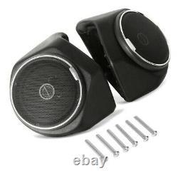 Topcase Set pour Harley Electra Glide Standard 19-21 + haut parleurs fumé clair