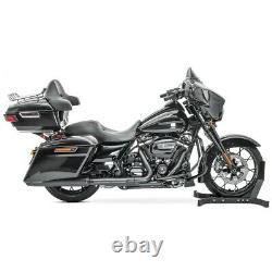 Valise Topcase King pour Harley Davidson Touring 2014-2020 + feux arrière rouge