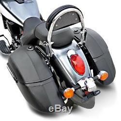 Valises rigides 33l pour Harley Davidson Sportster 883 Superlow /Forty-Eight 48