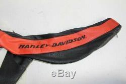 Veste moto cuir HARLEY DAVIDSON femme S (42522)