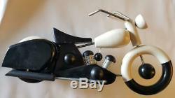 Vilac Aroutcheff Moto Harley Davidson Sportster tintin car struppi kuifje pixi